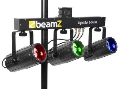 3-Some Lichtset 3x 57 RGBW LED's