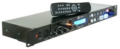Power Dynamics PDC-70 Speler SD/USB/MP3 1U
