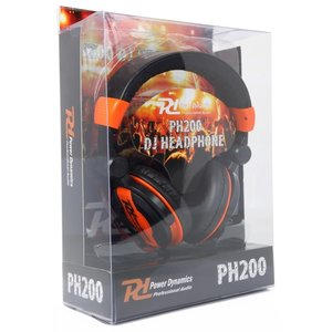 Power Dynamics PH200 DJ Koptelefoon Oranje