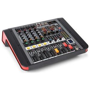 Powered Mixer 4 kanaals Power Dynamics  PDM-M404A
