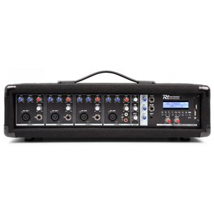Powered Mixer 4 kanaals Power Dynamics PDM-C405A